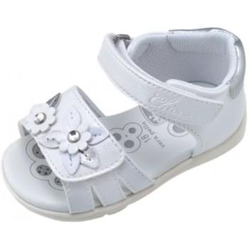 kengät Tytöt Sandaalit ja avokkaat Chicco 25196-15 Valkoinen