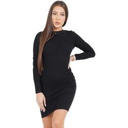vaatteet Naiset Lyhyt mekko Sixth June Robe femme  Classique noir