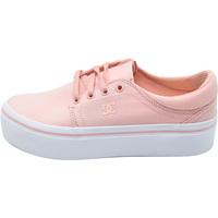 kengät Naiset Tennarit DC Shoes Trase Platform Tx Vaaleanpunainen
