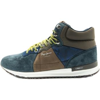 kengät Miehet Bootsit Pepe jeans Tinker Pro-Boot Sininen