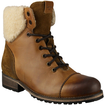 kengät Naiset Bootsit Pepe jeans Melting Warm Ruskea