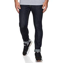 vaatteet Miehet Slim-farkut DC Shoes Worker Indigo Rinse Slim Fit Jeans Sininen