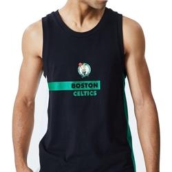 vaatteet Miehet Hihattomat paidat / Hihattomat t-paidat New-Era Nba Boston Musta