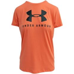 vaatteet Naiset Lyhythihainen t-paita Under Armour Graphic Sportstyle Classic crew W Vaaleanpunainen