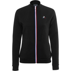 vaatteet Naiset Ulkoilutakki Le Coq Sportif Essential Full Zip Musta