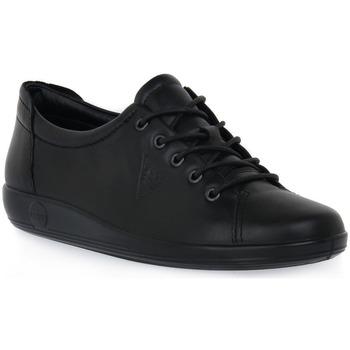 kengät Naiset Urheilukengät Ecco SOFT 2 BLACK FEATHER Nero