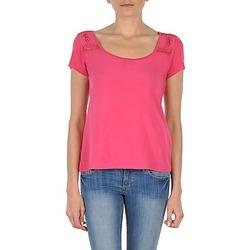 vaatteet Naiset Lyhythihainen t-paita DDP NOWI Pink