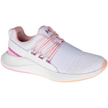 kengät Naiset Juoksukengät / Trail-kengät Under Armour W Charged Breathe CLR SFT Blanc