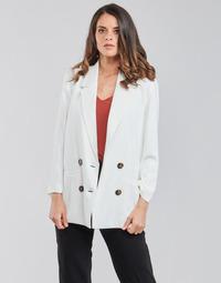 vaatteet Naiset Takit / Bleiserit Betty London OBINA Valkoinen