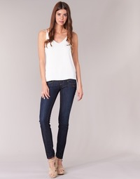 vaatteet Naiset Slim-farkut Freeman T.Porter ALEXA SLIM SDM Blue / Fonce
