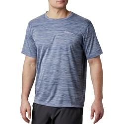 vaatteet Miehet Lyhythihainen t-paita Columbia Zero Rules Short Sleeve Shirt Bleu