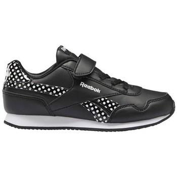 kengät Lapset Matalavartiset tennarit Reebok Sport Royal CL Jogger Mustat