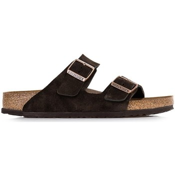 kengät Miehet Rantasandaalit Birkenstock Arizona Sfb Mustat