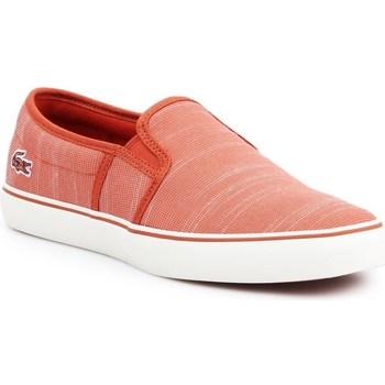 kengät Naiset Tennarit Lacoste Gazon Oranssin väriset
