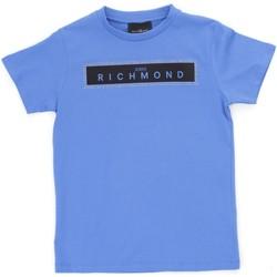 vaatteet Pojat Lyhythihainen t-paita Richmond Kids RBP21030TS Light blue