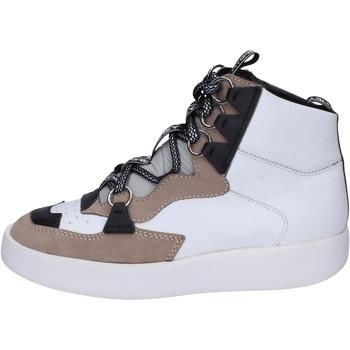 kengät Naiset Korkeavartiset tennarit My Grey Mer BJ745 Valkoinen
