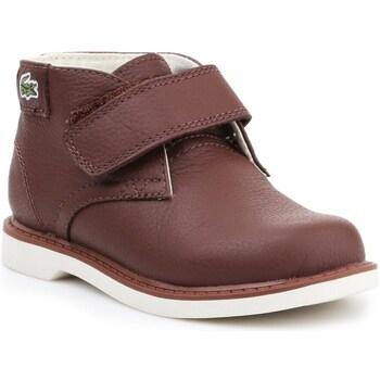 kengät Lapset Bootsit Lacoste 730SPI301177T Ruskeat