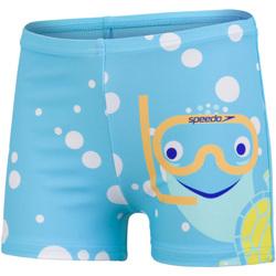 vaatteet Pojat Uima-asut / Uimashortsit Speedo  Blue/Yellow
