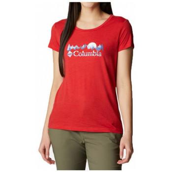 vaatteet Naiset Lyhythihainen t-paita Columbia  Monivärinen