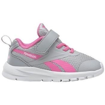kengät Tytöt Juoksukengät / Trail-kengät Reebok Sport Rush Runner Harmaat, Vaaleanpunaiset