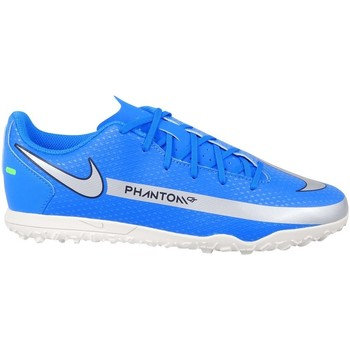 kengät Pojat Jalkapallokengät Nike Phantom GT Club TF JR Vaaleansiniset