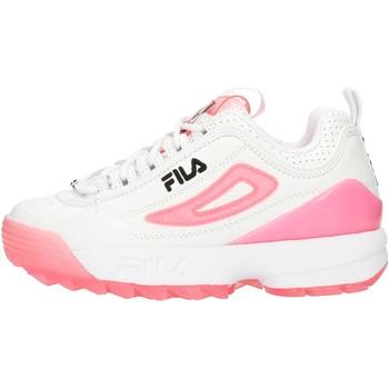 kengät Naiset Matalavartiset tennarit Fila 1010862 Pink