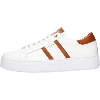 kengät Miehet Matalavartiset tennarit Exton 861 Leather