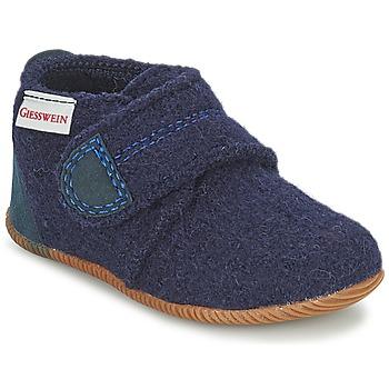 kengät Pojat Tossut Giesswein OBERSTAUFEN Blue