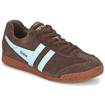 kengät Miehet Matalavartiset tennarit Gola HARRIER Brown / Blue