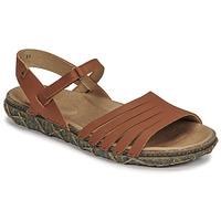 kengät Naiset Sandaalit ja avokkaat El Naturalista SOFT Ruskea