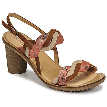 kengät Naiset Korkokengät El Naturalista FANTASY Ruskea