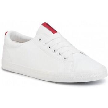 kengät Naiset Matalavartiset tennarit Big Star DD274685101 Valkoiset