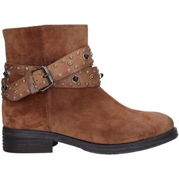kengät Naiset Nilkkurit Zoe 0050 BROWN