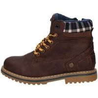 kengät Lapset Bootsit Wrangler WJ17213 BROWN