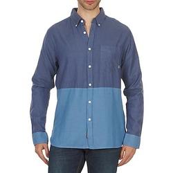 vaatteet Miehet Pitkähihainen paitapusero Element BRENTWOOD Blue