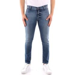 vaatteet Miehet Slim-farkut Roy Rogers P21RRU006D3171194 BLUE