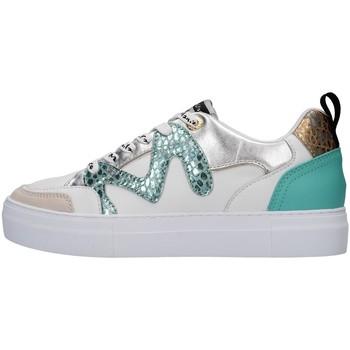 kengät Naiset Matalavartiset tennarit Manila Grace S657LW AQUA BLUE