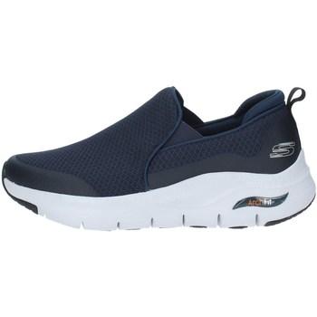 kengät Miehet Matalavartiset tennarit Skechers 232043 NAVY BLUE