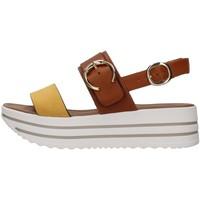 kengät Naiset Sandaalit ja avokkaat NeroGiardini E115711D YELLOW