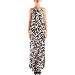 vaatteet Naiset Pitkä mekko Calvin Klein Jeans K20K202077 BLACK