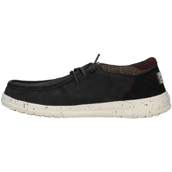 kengät Miehet Derby-kengät Hey Dude 11229 BLACK