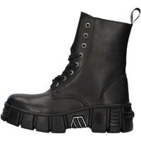 kengät Matalavartiset tennarit New Rock WALL026NBASA BLACK