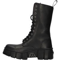 kengät Matalavartiset tennarit New Rock WALL027NBASA BLACK
