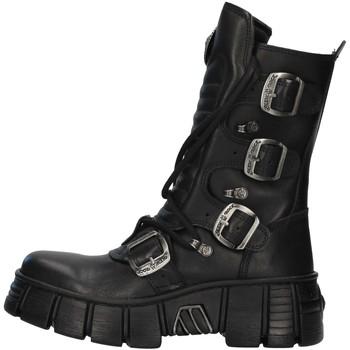 kengät Matalavartiset tennarit New Rock WALL028N BLACK