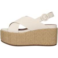 kengät Naiset Sandaalit ja avokkaat Tres Jolie 2801/MONY WHITE