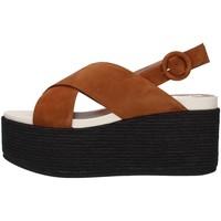 kengät Naiset Sandaalit ja avokkaat Tres Jolie 2801/MONY BROWN