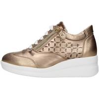 kengät Naiset Matalavartiset tennarit Melluso R20228 GOLD