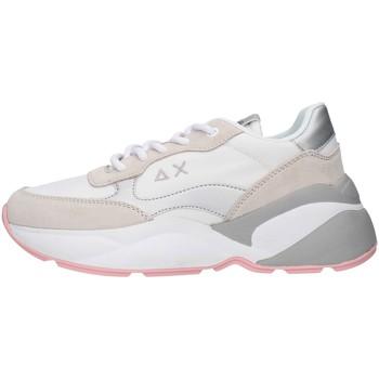 kengät Naiset Matalavartiset tennarit Sun68 Z30220 WHITE