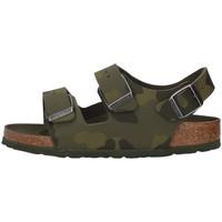 kengät Pojat Sandaalit ja avokkaat Birkenstock 1014590 GREEN