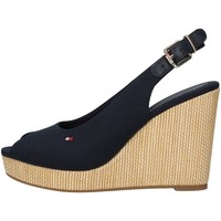kengät Naiset Sandaalit ja avokkaat Tommy Hilfiger FW0FW04789 BLUE